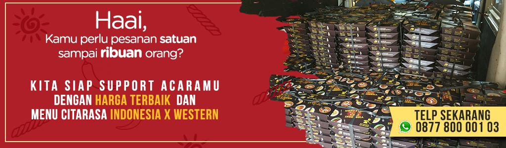 Ready Nasi Kotak dengan Harga Terbaik untuk Acaramu