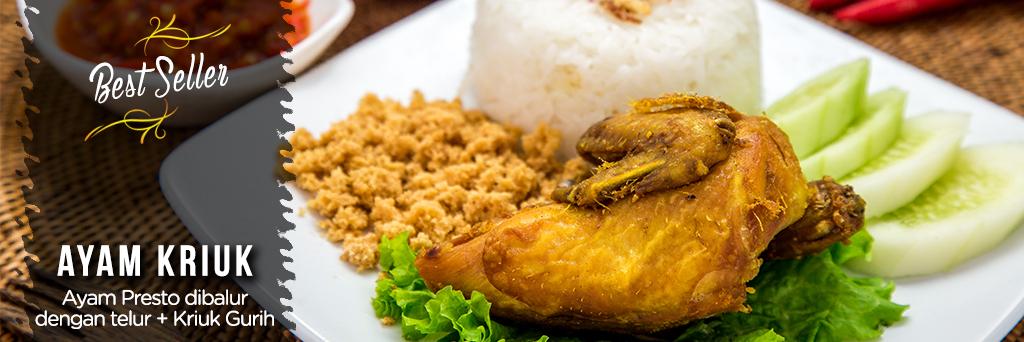 Best Seller Ayam Goreng Kriuk