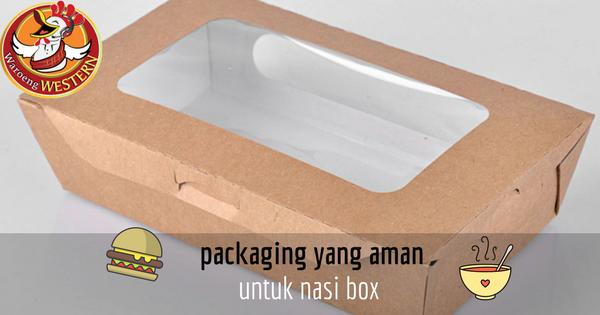 Pembungkus Makanan Aman untuk Nasi Box