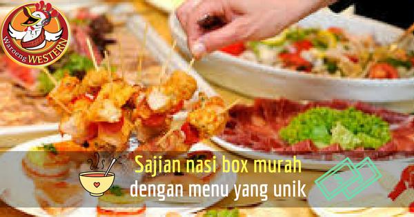 Sajian Nasi Box Murah Jakarta dengan Pilihan Menu Unik