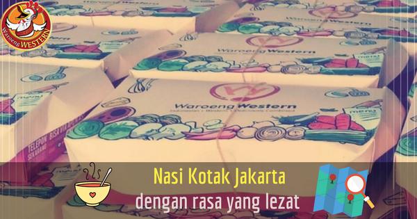 Nasi Kotak Jakarta dengan Rasa yang Lezat