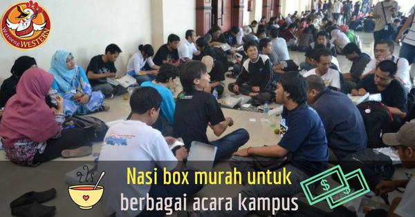 Nasi Box Murah Jakarta yang Cocok untuk Berbagai Acara Kampus