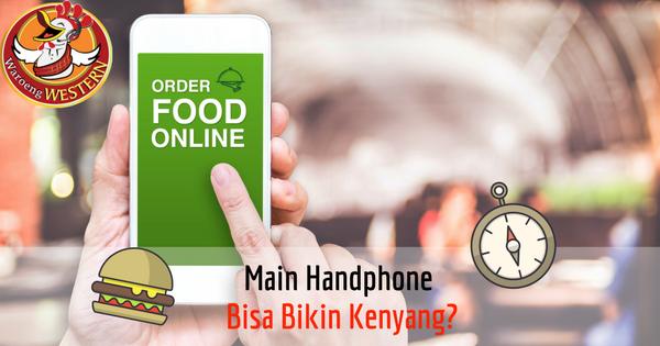 Main Handphone Bisa Bikin Kenyang?