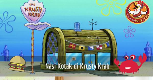 Nasi Kotak di Krusty Krab