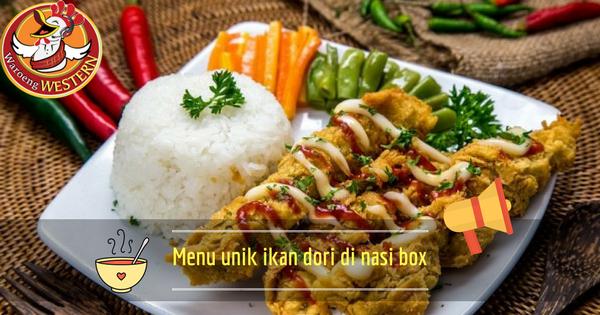 Ikan Dori, Andalan Menu Unik Nasi Box Jakarta