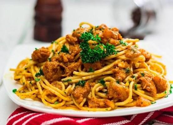 Spaghetti Kari Rempah