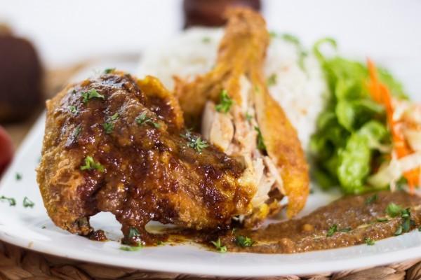 Ayam Goreng Bumbu Sate